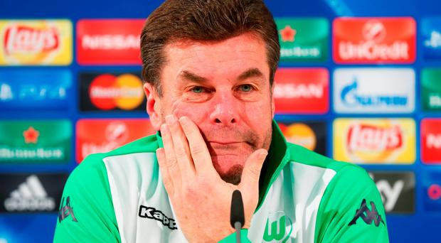 Wolfsburg boss Dieter Hecking