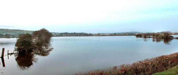 Severe flooding around Strabane, Co Tyrone