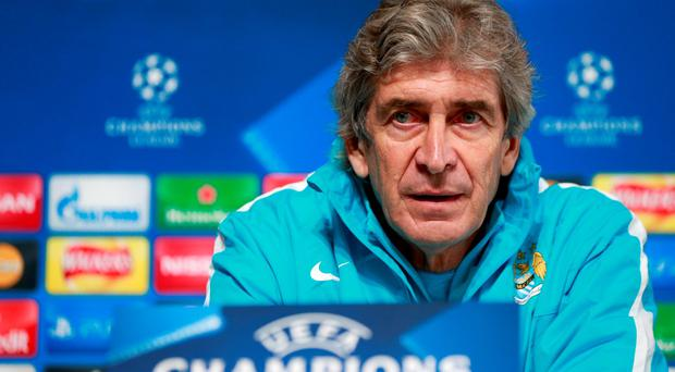 Manuel Pellegrini: 'Chelsea, United and Arsenal would like to be in our position'