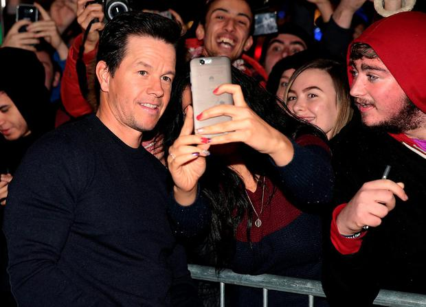 Mark Wahlberg meets fans at The Irish premiere screening of Daddy's Home at The Savoy Cinema in O Connell Street, Dublin. Pictures: Brian McEvoy