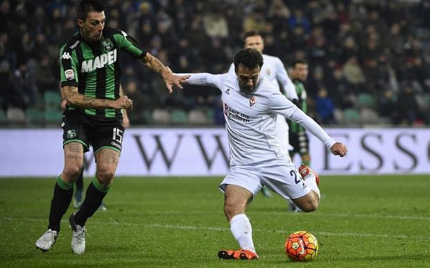 Giuseppe Rossi is struggling to win a place in Fiorentina's starting XI Photo: AFP
