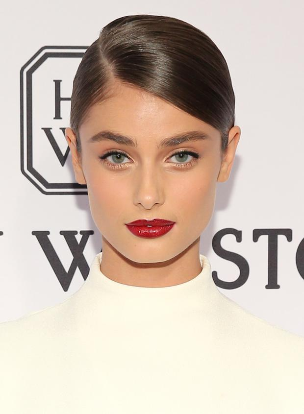 Taylor Hill at the AmFar Gala in June 2015