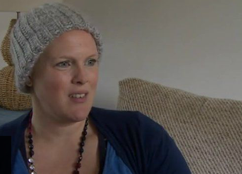Heidi Loughlin has been told to give birth 12 weeks early. Photo: BBC