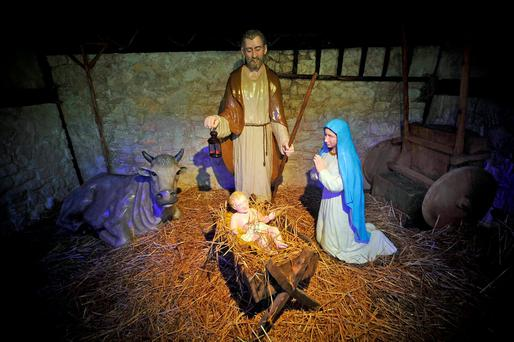 'Christmas is the simple story of the birth of a child who brought hope to the world'