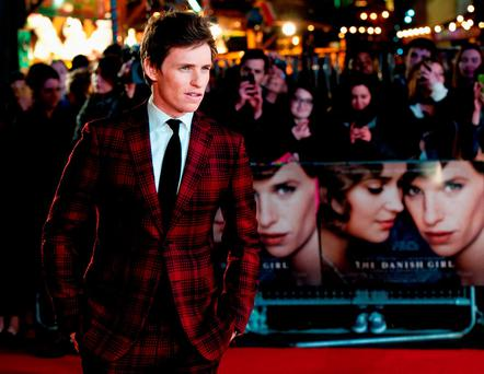 Eddie Redmayne attends the UK Film Premiere of