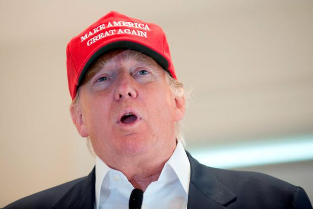 Donald Trump is running for US President