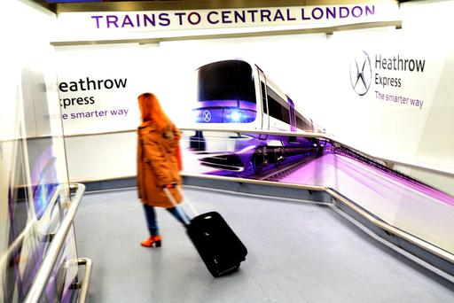 Heathrow Express. Photo: Deposit