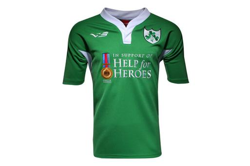 The Help For Heroes Irish jersey