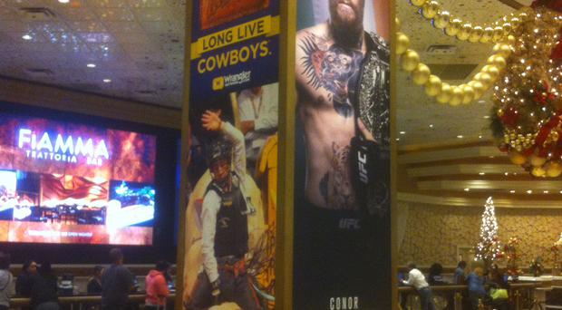 Conor McGregor's fight clashes with the rodeo calendar in Las Vegas