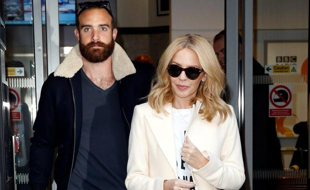 Kylie Minogue and boyfriend Joshua Sasse
