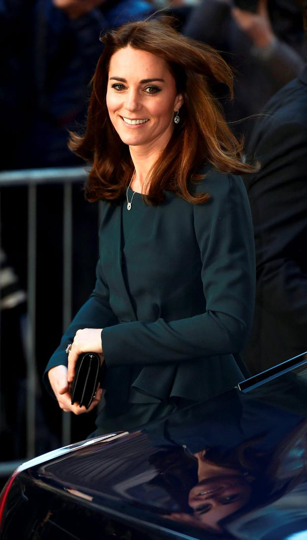 Kate Middleton Debuts Dramatic New Hairstyle In London With Prince