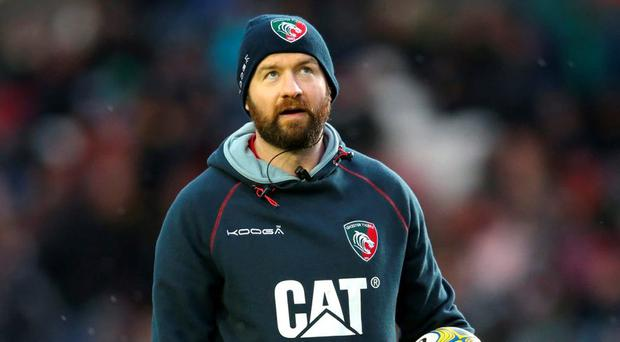 Geordan Murphy is enjoying his third year as backs coach with Leicester