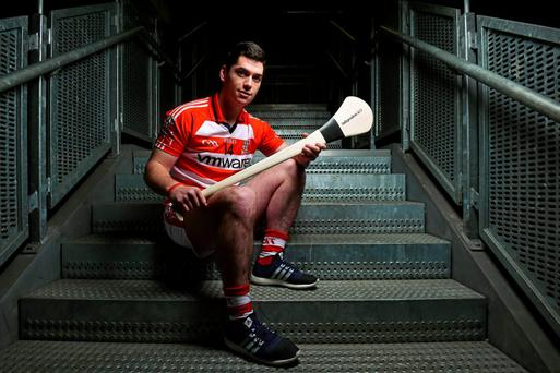 John O'Dwyer from Cork Institute of Technology, during the Fitzgibbon Cup Independent.ie Higher Education Championships Launch. Croke Park, Dublin. Picture credit: Matt Browne / SPORTSFILE