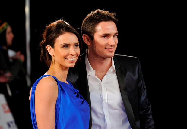 Christine Bleakley and Frank Lampard attends the National Television Awards at the O2 Arena on January 26, 2011 in London, England. (Photo by Gareth Cattermole/Getty Images)