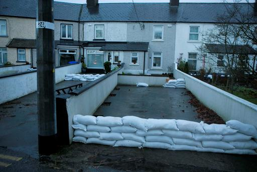 Flooding in the Strand Area of Athlone