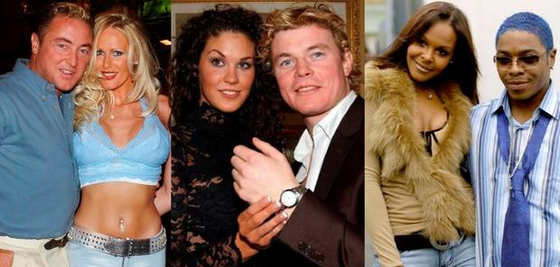 (L to R) Michael Flatley and Lisa Murphy, Glenda Gilson and Brian O'Driscoll and Samantha Mumba and Sisqo