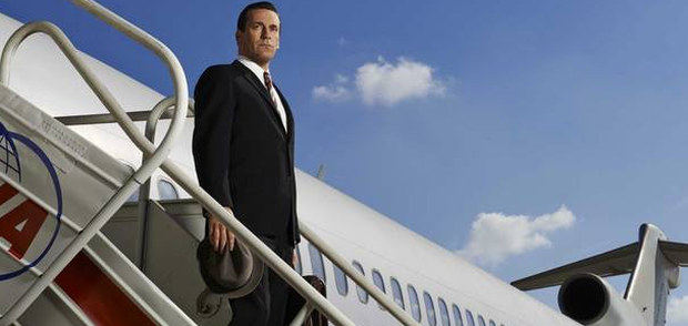 Jon Hamm's character Don Draper was handsome and successful