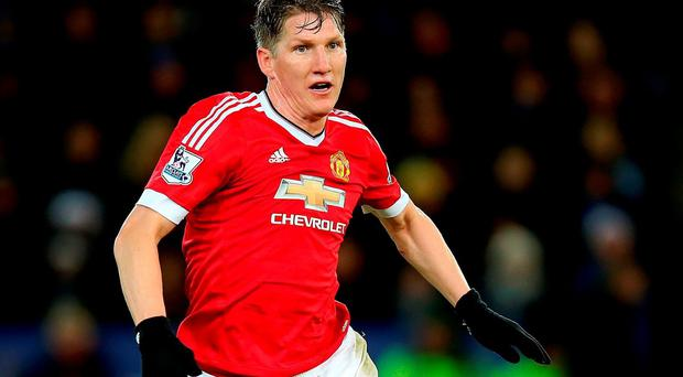 Manchester United's Bastian Schweinsteiger Manchester United midfielder Bastian Schweinsteiger has been banned for three games for his elbow on West Ham's WInston Reid. Mike Egerton/PA Wire.