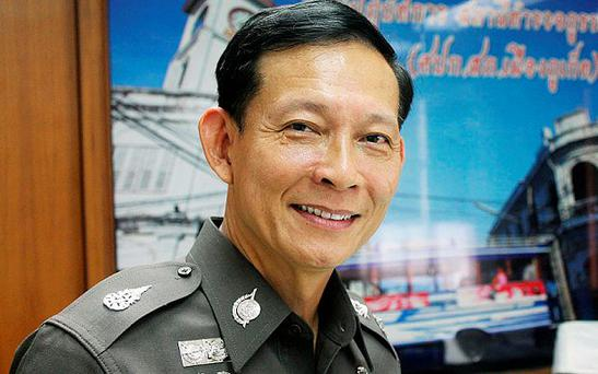 Major General Paween Pongsirin said that he fled Thailand after receiving death threats