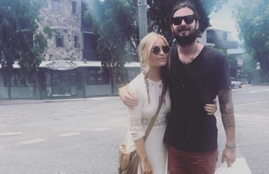 Laura Whitmore and boyfriend Rory Williams. Picture: Instagram