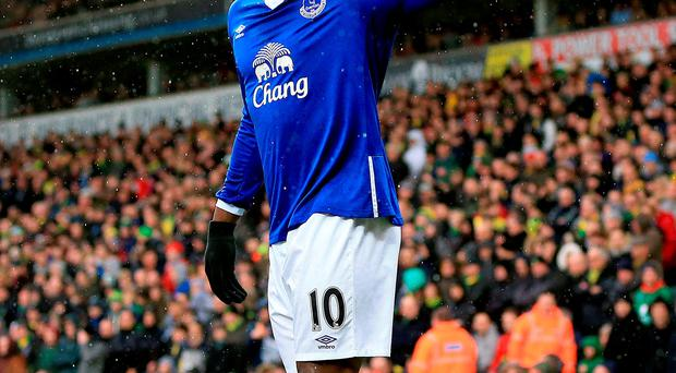 Romelu Lukaku scored again for Everton