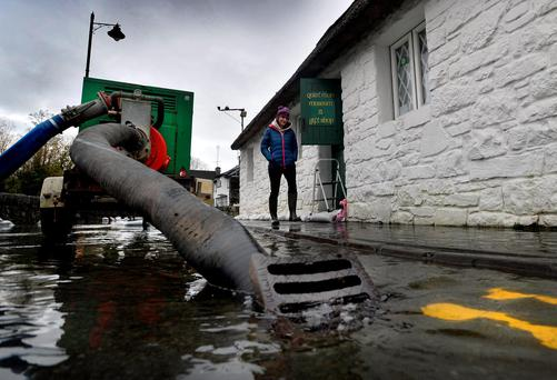 WATER: The Quiet Man Museum in Cong is threatened by the floods