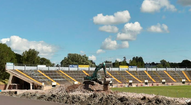 Páirc Uí Chaoimh in Cork City is currently in the process of being redeveloped by the county board MATT BROWNE/SPORTSFILE