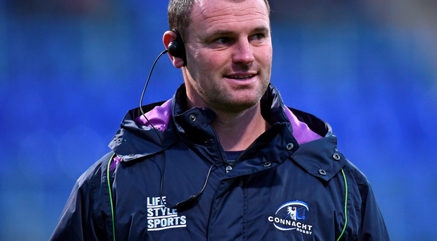 Connacht Eagles head coach Nigel Carolan
