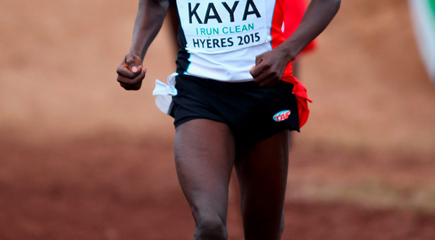 Kenya native Kaya Ali on his way to winning European gold for Turkey