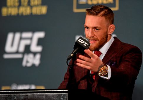 Conor McGregor has big plans for the future
