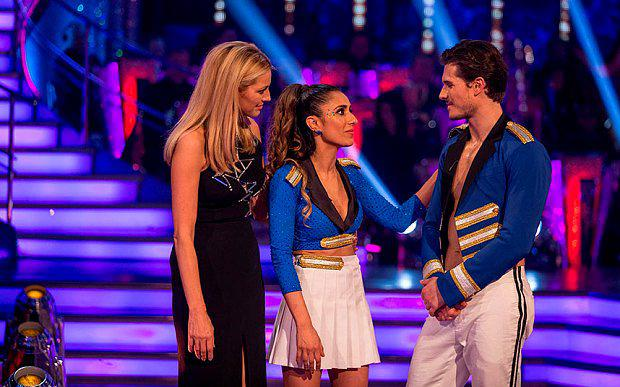 Anita Rani and Gleb Savchenko