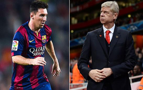 Arsenal will face Barcelona in the Champions League last-16