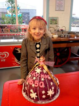 Lily Mae Morrison celebrates being cancer free