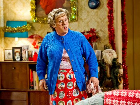 Brendan O'Carroll as Mrs Brown and