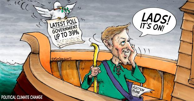 'Recent polls suggest – repeat, 'suggest' – the election is there to be won by the Coalition'