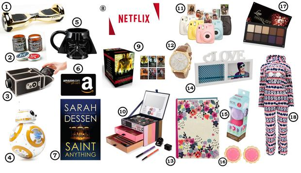 Teenage Christmas Gift Guide