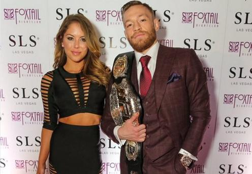 Conor McGregor arrives at the Foxtail Nightclub