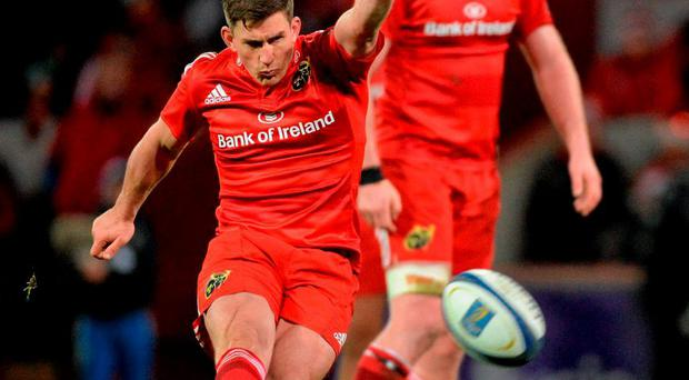 The sound of Munster fans ironically cheering the substitution of Ian Keatley was shocking