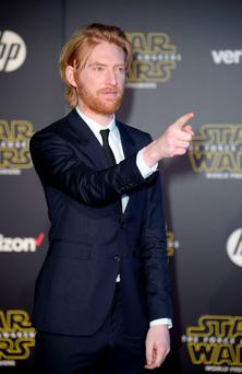 Actor Domhnall Gleeson arrives at the premiere of 'Star Wars: The Force Awakens' in Hollywood, California