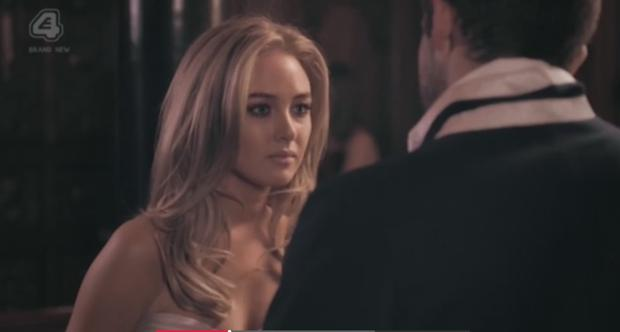 Nicola Hughes in E4's Made in Chelsea