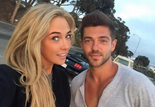 Nicola Hughes and boyfriend Alex Mytton. Picture: Instagram