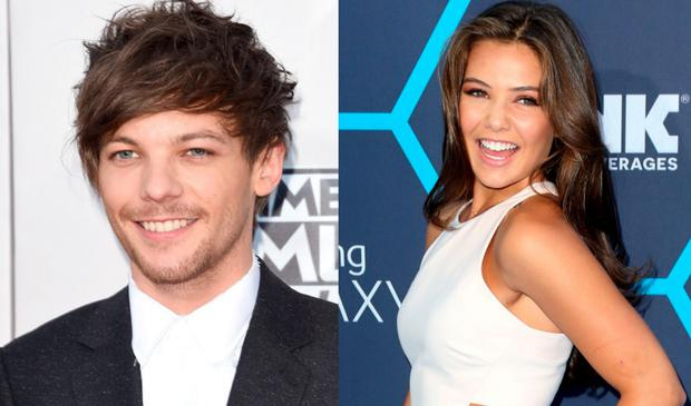 Louis Tomlinson (left) and Danielle Campbell (right)
