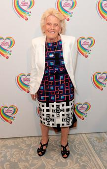 LONDON, ENGLAND - JUNE 02: Nanny Pat attends the Health Lottery Tea Party at The Savoy on June 2, 2014 in London, England. (Photo by Dave J Hogan/Getty Images)