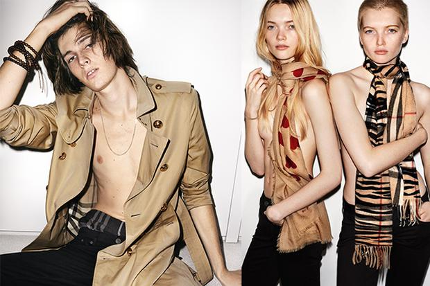 Burberry's Spring/Summer '16 campaign, shot by Mario Testino
