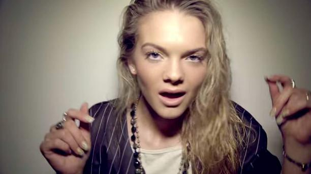 Louisa Johnson in the video for Go