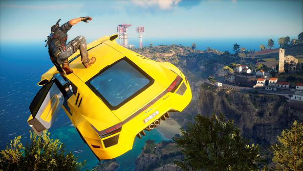 Just Cause 3: Outrageous stunts are a key attraction