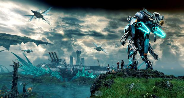 Xenoblade Chronicles X: Epic scale and robots