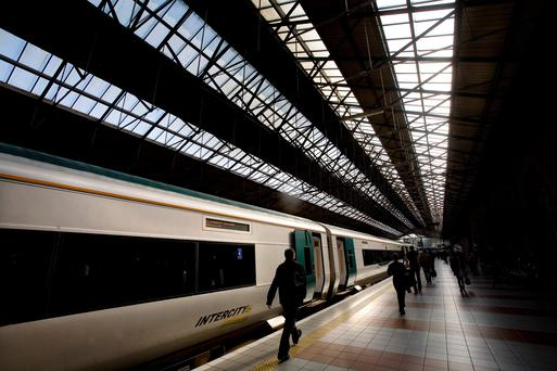 Connolly Station. Stock picture