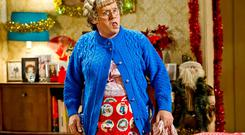 Confounding critics: Brendan O'Carroll as Mrs Brown.