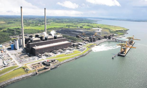 Moneypoint in Co Clare is Ireland's largest electricity generation station